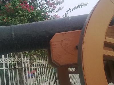 Histoic  Cannon In  Multan  Fort