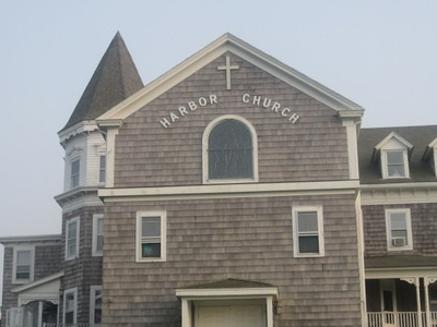 Historic  Harbor  Church At  Block  Island