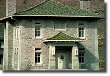Historic Army Engineers Headquarters - Fort Yellowstone - USA