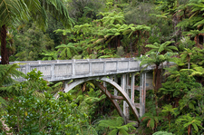 Historic Bridge To Nowhere - North Island - New Zealand