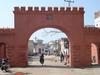Historic Delhie Gate  At Rewari