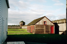 Historic Fort Vancouver WA Reconstructed Buildings