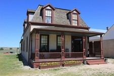 Historic Structures Inside Fort Laramie