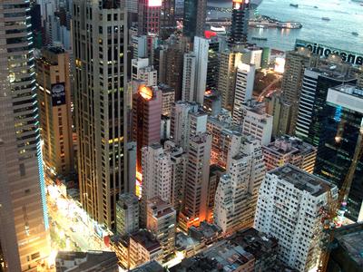 H K Causeway Bay Buidlings