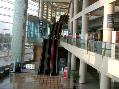 Hong Kong Convention And Exhibition Centre Interior