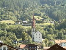 Hl Georg Und Nikolaus Pfarrkirche Oetz Austria
