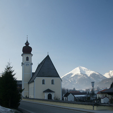 Hl Johannes Parish Church Achenkirch Austria