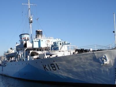 HMCS Sackville, Halifax Harbour