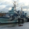 HMS Belfast At Her London Berth