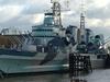 HMS Belfast At Her London Berth