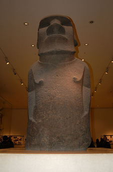Hoa Hakananai'a In The British Museum