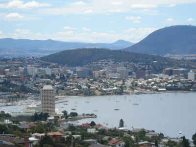 Hobart Central Business District