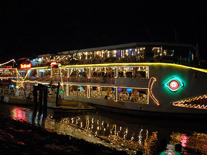 Evening Dinner Cruise Saigon Floating Restaurant From Hotel Inside Ho Chi Minh City Only Photos