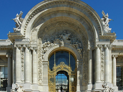 Façade Of The Petit Palais In Paris