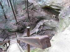 Hocking Hills State Park Stairs - Ohio