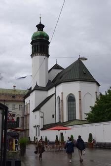 Hofkirche In Innsbruck, Austria