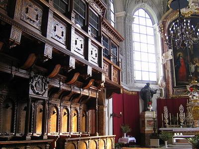 Hofkirche, Innsbruck, Austria - Altar