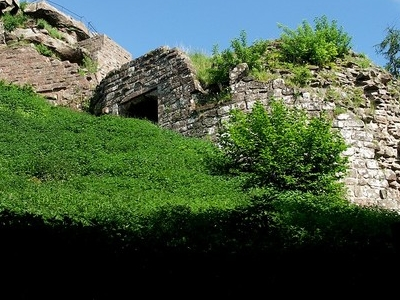 Ruins Of Hohenbourg