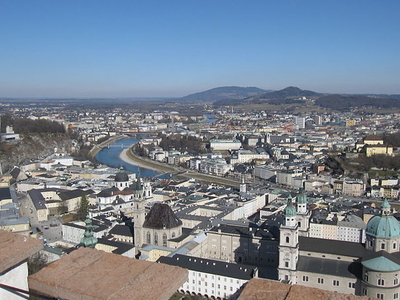 Hohensalzburg Castle Long View