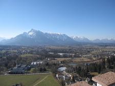 Hohensalzburg Castle Mountain