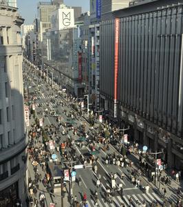 Hokosha Tengoku (Pedestrian Paradise)