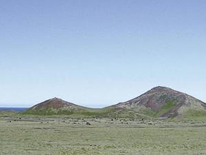 Holaholar área del cráter