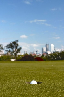 Hole On Victoria Park Golf Complex With City View