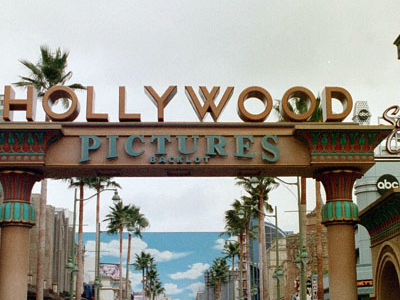 Entrance To Hollywood Land