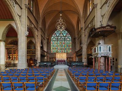 Holy Trinity Sloane Street Church Nave