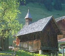 Holzkapelle In Madseit Austria