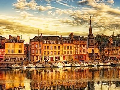 Honfleur-Normandie-France