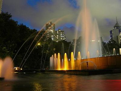 Hong Kong Botanic Garden Fountain