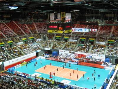 Inside The Hong Kong Coliseum