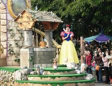 Hong Kong Disneyland Lady