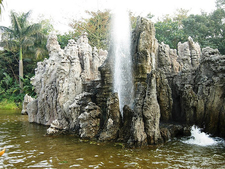 Hong Kong Disneyland Water Fountain