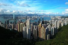 Hong Kong Kowloon Victoria Peak