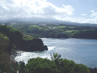 Honolua And Mokuleʻia Bay From Lipoa Point