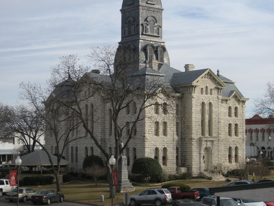 Hood County Courthouse In Granbury