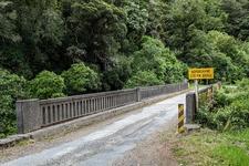 Hopuruahine Stream Bridge - Te Urewera NP - North Island NZ