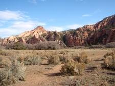 Hop Valley Trailhead - Open Expanse - Zion - Utah - USA