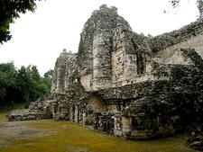 Hormiguero Mayan Ruins - Campeche - Mexico