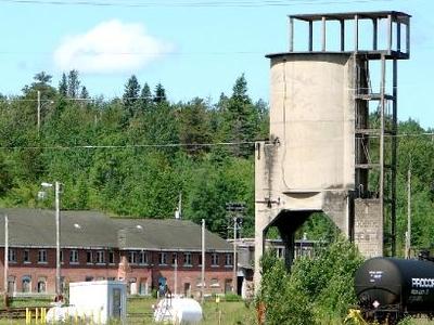 The CN Rail Yard