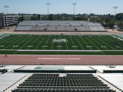 Hornet Stadium Field View
