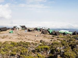 Horombo Huts - Hiking Kilimanjaro