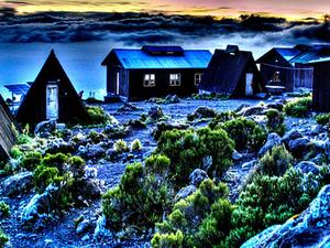 Horombo Huts - Marangu & Rongai Routes - Mt. Kilimanjaro