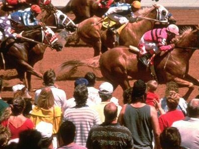 Horse Racing At Ruidoso Downs