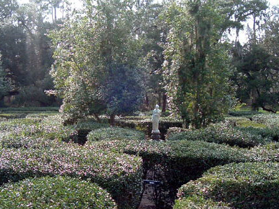 Horticulture Maze On The Plantation
