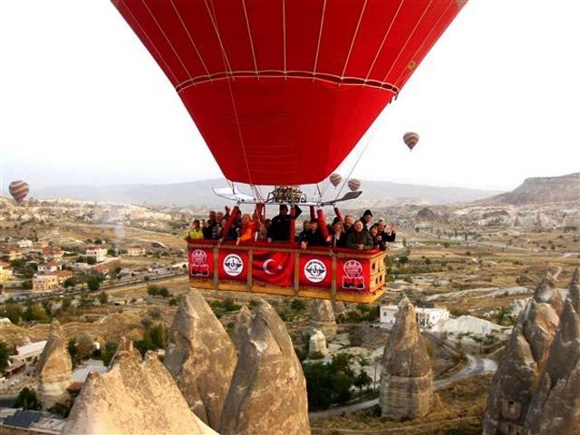 Cappadocia Balloon Tour Photos