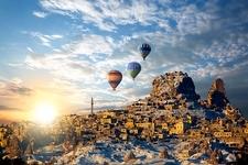 Hot Air Baloons Over Cappadocia