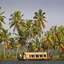 Houseboat In Backwater Of Kerala